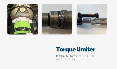 eletric actuators torque limiter
