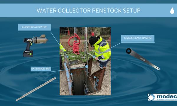penstock setup