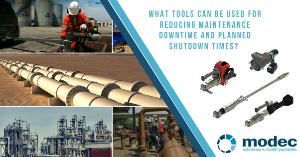 What tools can be used for reducing maintenance downtime and unplanned shutdown times?
