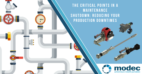 The critical points in a maintenance shutdown: Reducing your production downtimes