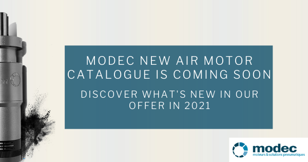 What is new in modec air motor offer in 2021? Introducing modec new air motor catalogue!