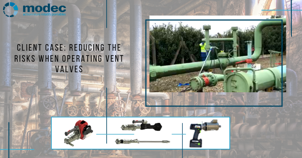 Client case: Reducing the risks when operating vent valves