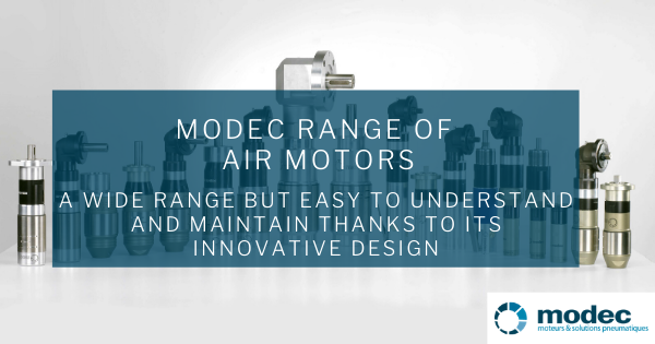 modec range of air motors